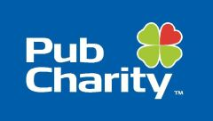 PubCharity on blue